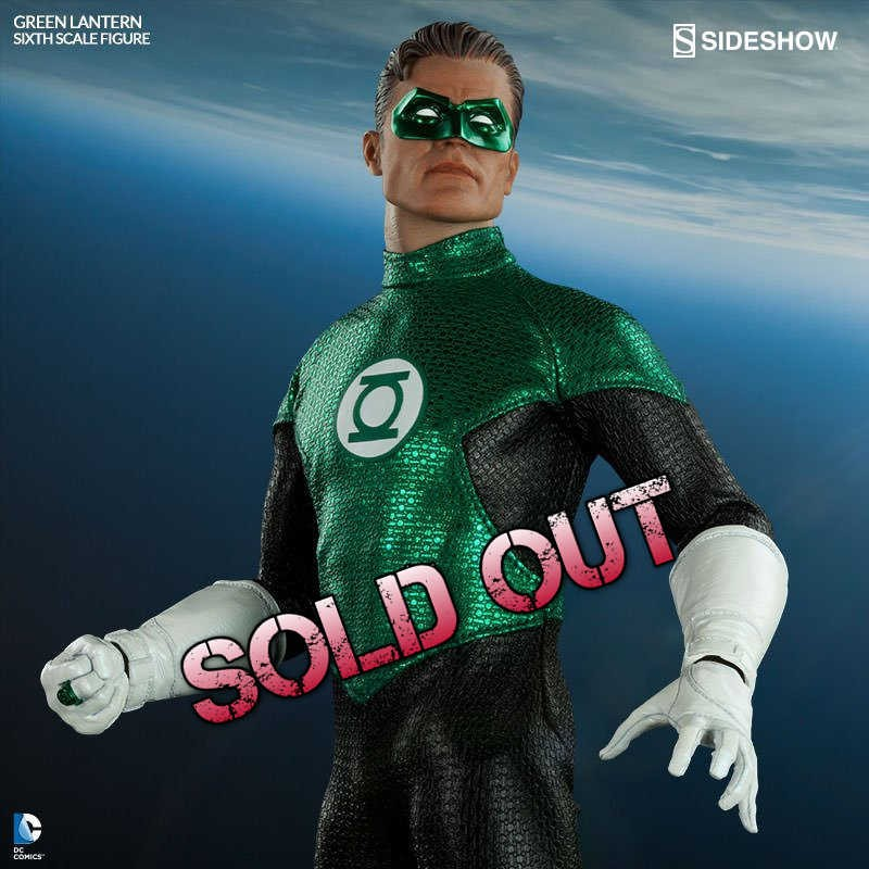 Green Lantern - 1/6 Scale Action Figur