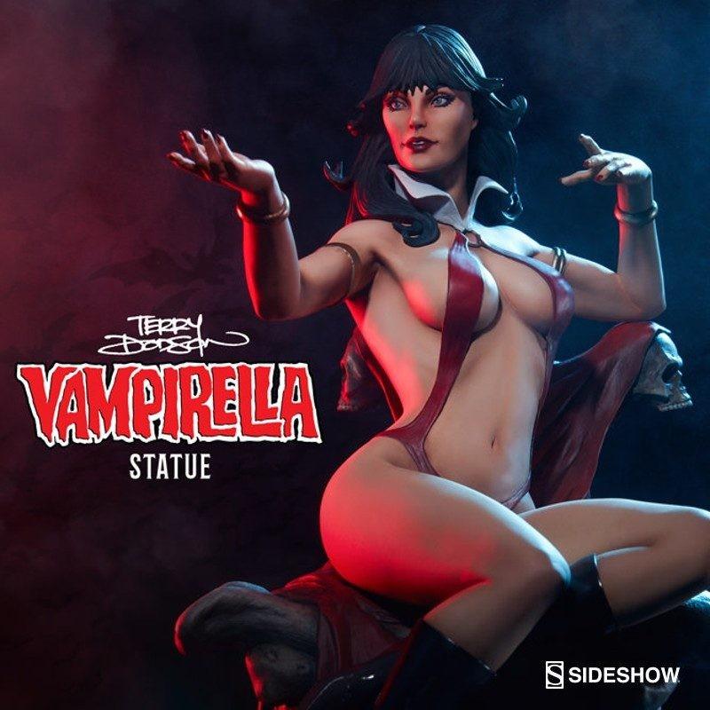 Vampirella auf Thron - Vampirella - 1/5 Scale Statue