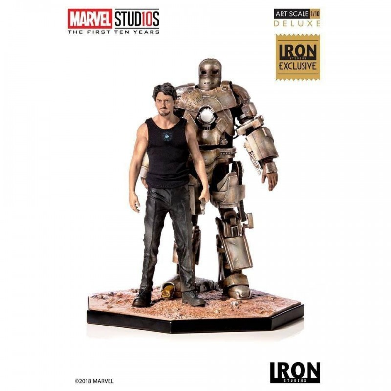 Iron Man Mark I CCXP 2019 Exclusive - Marvel Comics - Art 1/10 Scale Statue