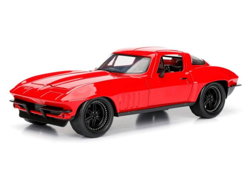Letty's 1966 Chevy Corvette - Fast & Furious 8 - Diecast Modell 1/24