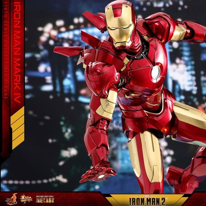 Iron Man Mark IV - Iron Man 2 - Diecast 1/6 Scale Figur