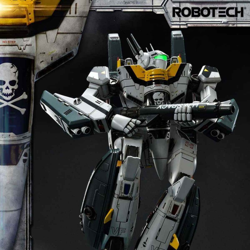 VF-1S Skull Leader Battloid Mode - Robotech - Premium Masterline Statue