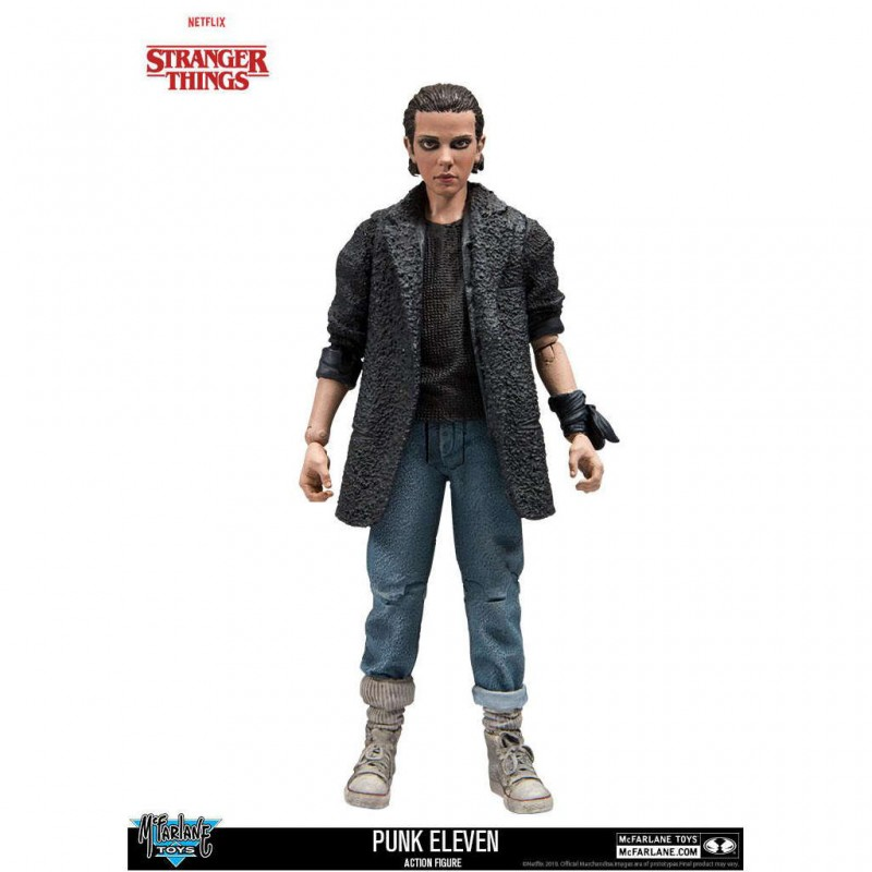 Punk Eleven - Stranger Things - Actionfigur 15cm