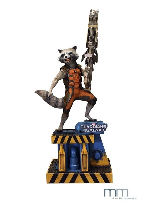 Rocket - Guardians of the Galaxy - Life-Size Statue