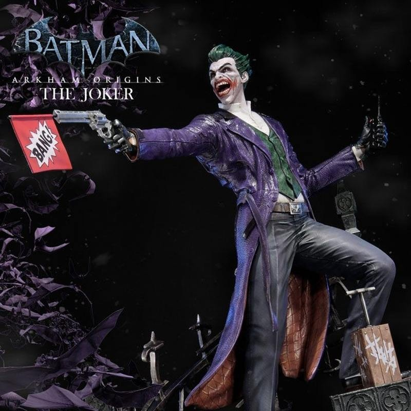 The Joker - Batman Arkham Origins - 1/3 Scale Statue