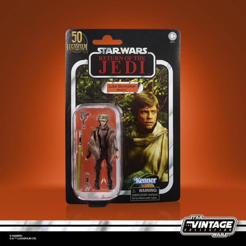 Luke Skywalker (Endor) - Star Wars - Vintage Collection Actionfigur 2021