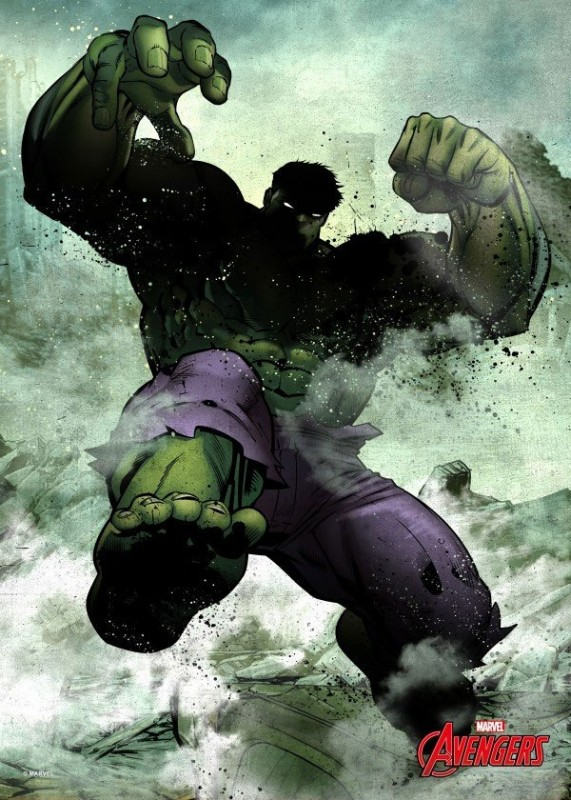 Dark Hulk - Marvel Comics - Metall-Poster
