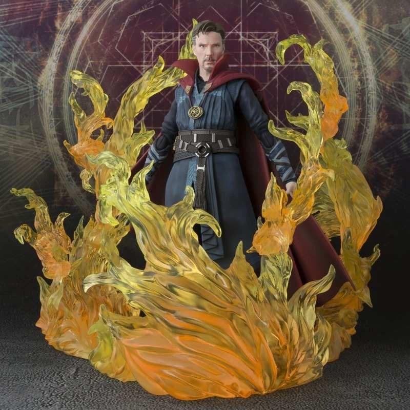 Strange & Burning Flame Set - Doctor Strange - S.H. Figuarts Actionfigur