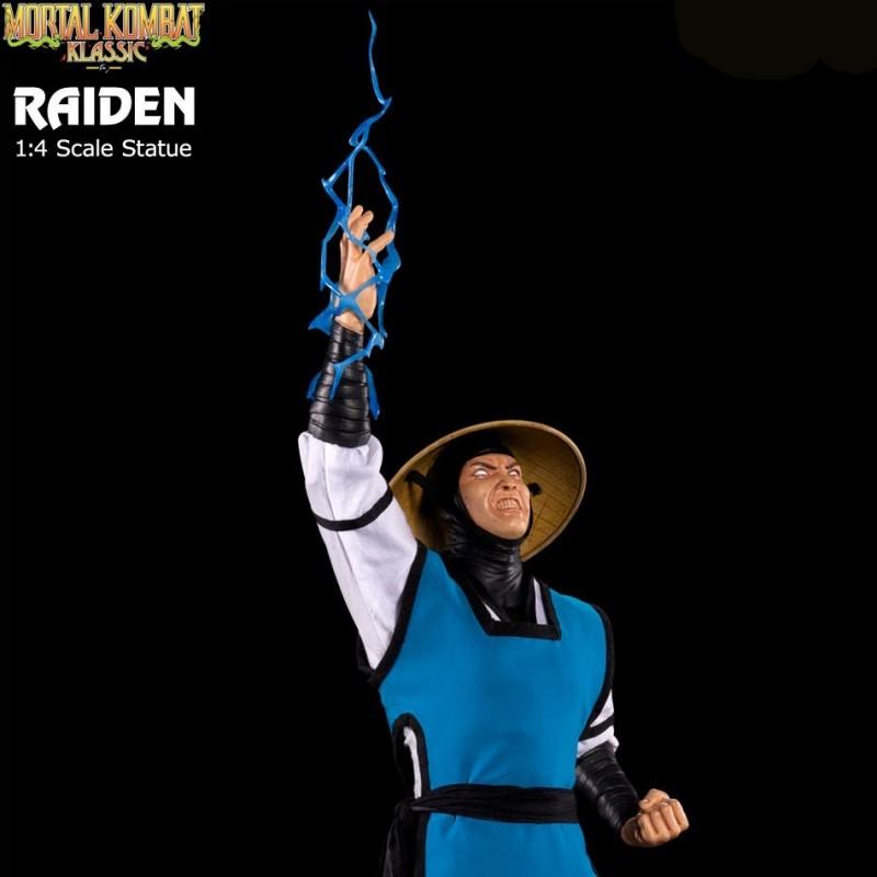 Lord Raiden - Mortal Kombat - 1/4 Scale Statue