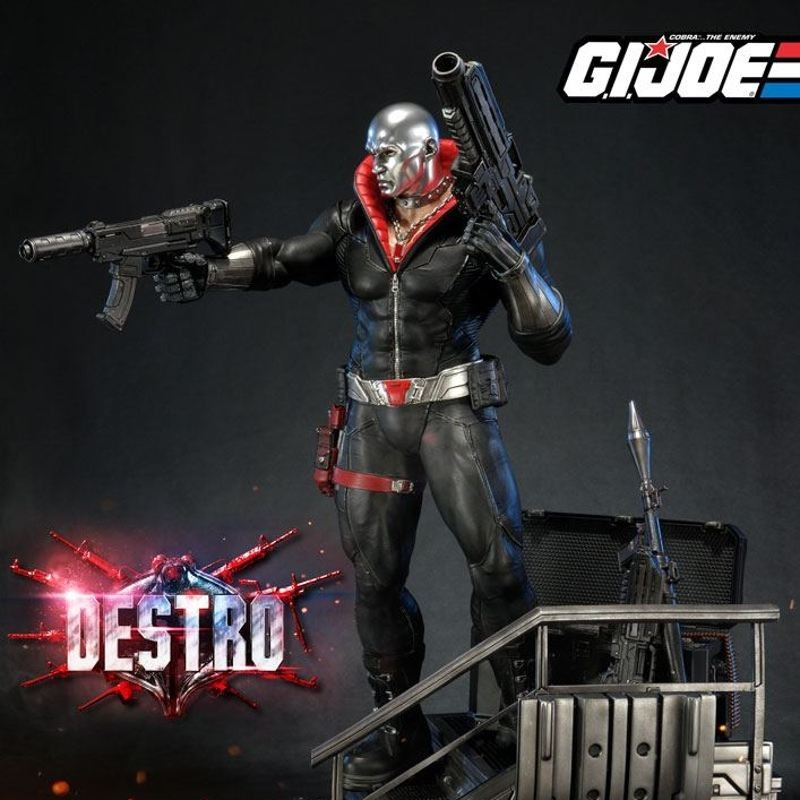 Destro - G.I. Joe - 1/4 Scale Statue