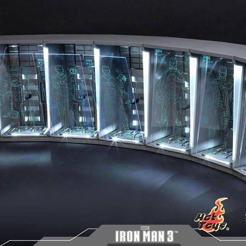 Hall of Armor (Set of 7) - Iron Man 3 - 1/6 Scale Zubehör