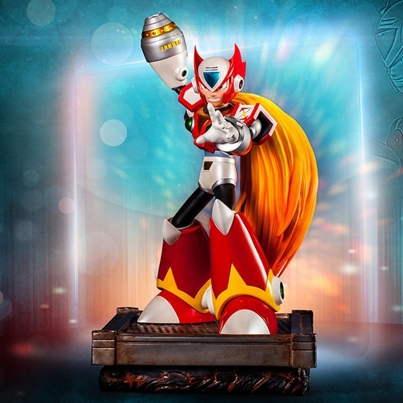 Zero - Megaman - Polystone Statue