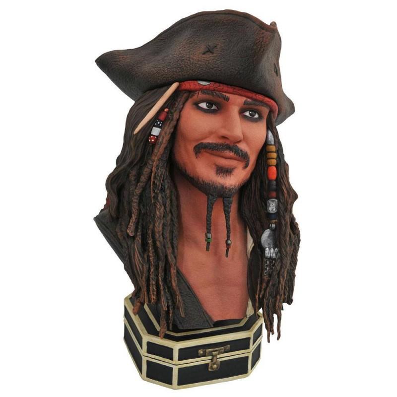 Jack Sparrow - Fluch der Karibik - Legends in 3D Büste