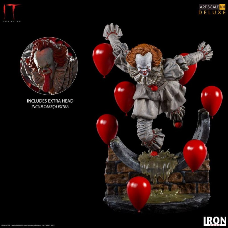 Pennywise - Es Kapitel 2 - 1/10 Deluxe Art Scale Statue