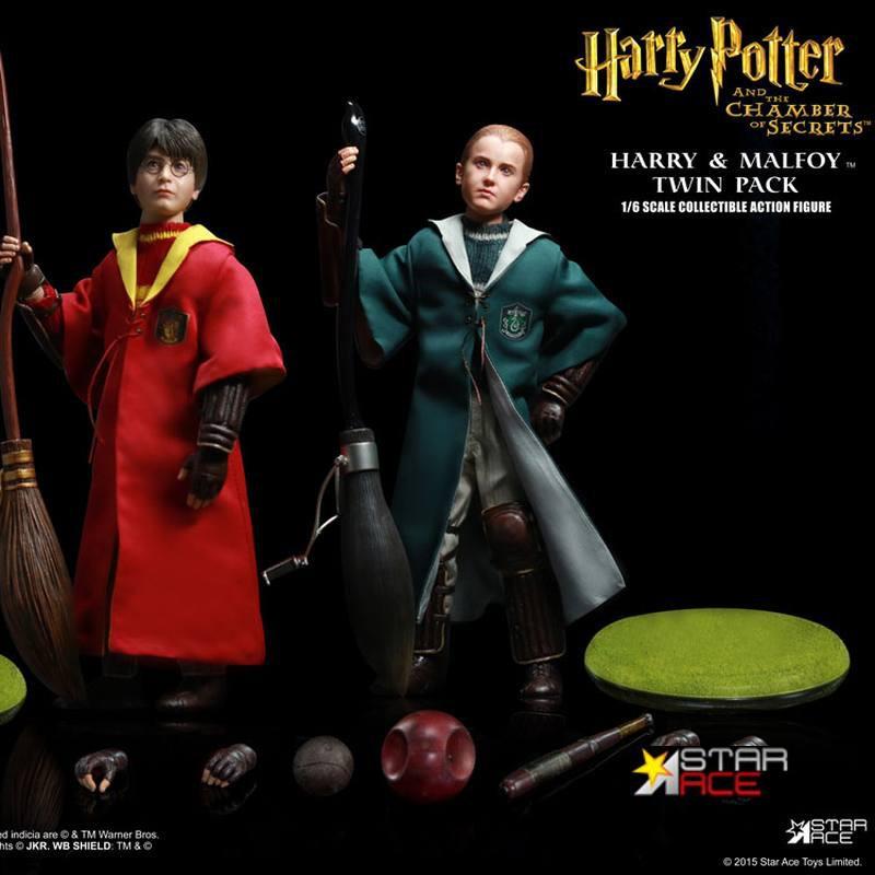 Potter & Malfoy - Harry Potter - 1/6 Scale Figuren Set