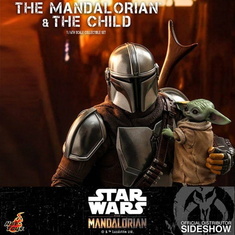The Mandalorian & The Child - Star Wars The Mandalorian - 1/6 Scale Figur