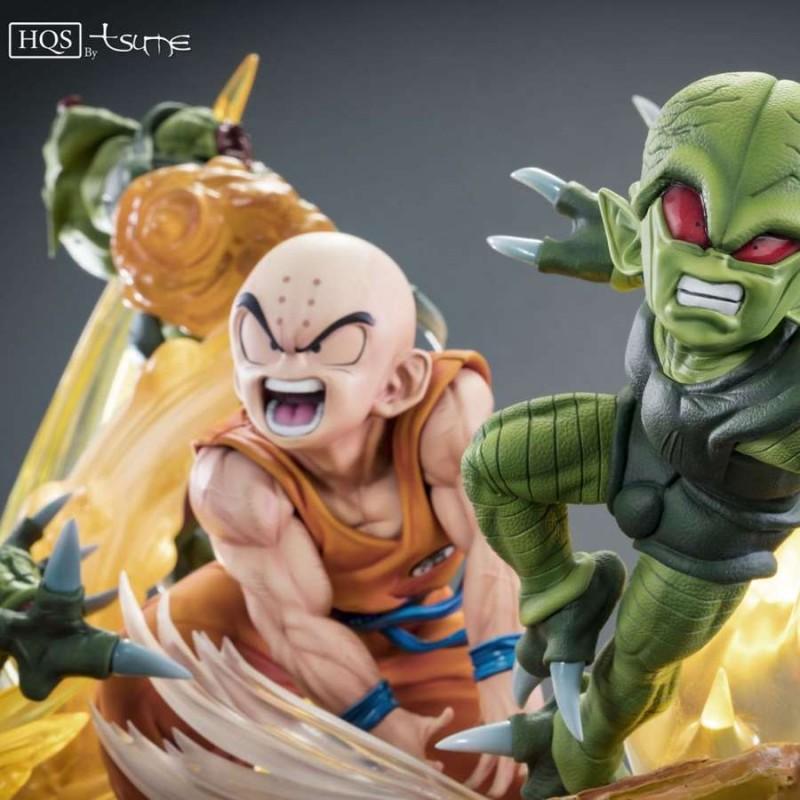 Krilin vs the Saibaimen - Dragon Ball Z - 1/6 Scale HQS Statue