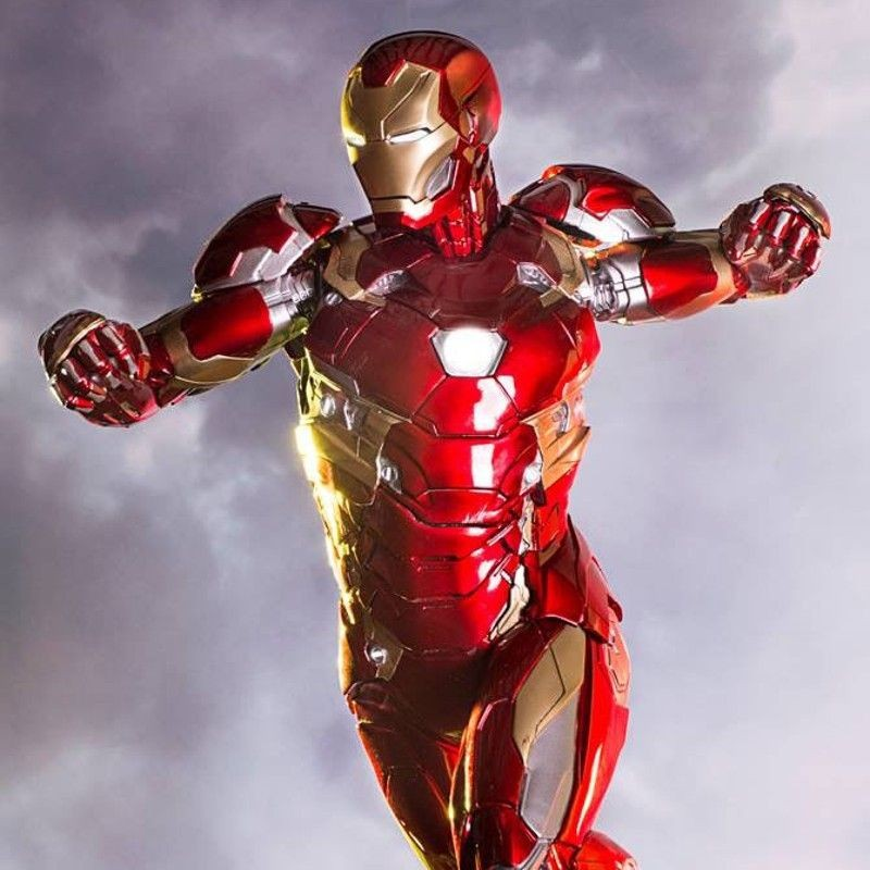 Iron Man Mark XLVI - Captain America Civil War - 1/4 Scale Statue