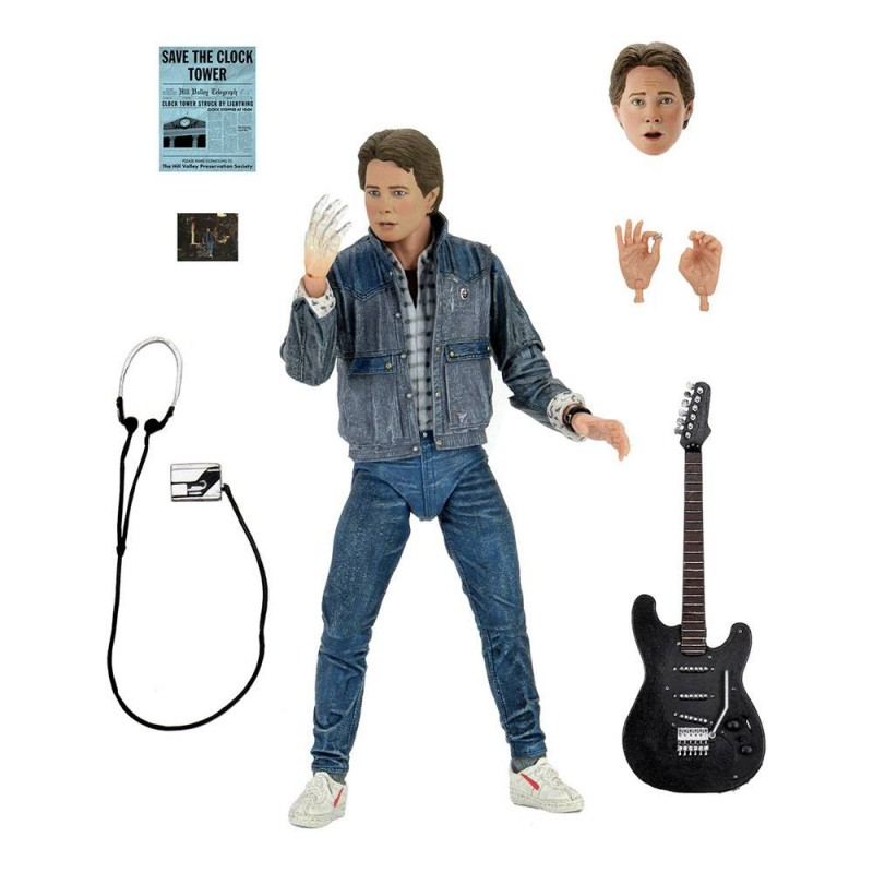 Marty McFly (Audition) - Zurück in die Zukunft - Ultimate Actionfigur 18cm