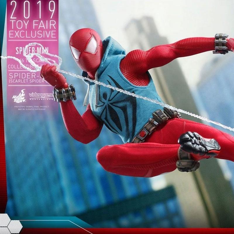 Scarlet Spider Suit 2019 Toy Fair Exclusive - Marvel's Spider-Man - 1/6 Scale Figur