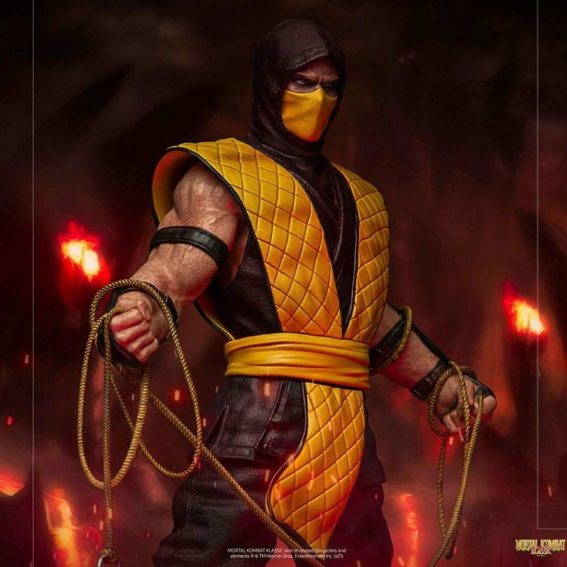 Scorpion - Mortal Kombat - 1/10 Art Scale Statue