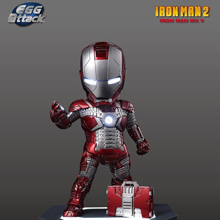Mark 5 - Iron Man - Egg Attack Figur