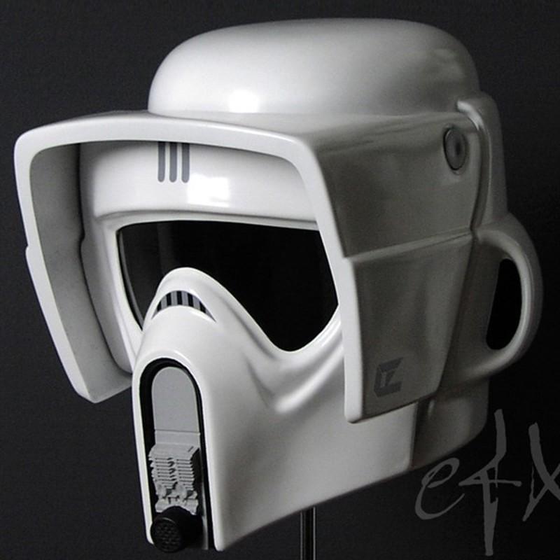 Scout Trooper Helm - Star Wars Return of the Jedi - 1/1 Replik