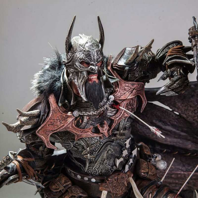 The Bat King - 1/4 Scale Polystone Statue by Caleb Nefzen