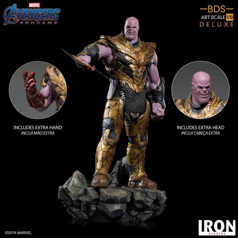 Thanos Black Order Deluxe - Avengers: Endgame - BDS Art 1/10 Scale Statue