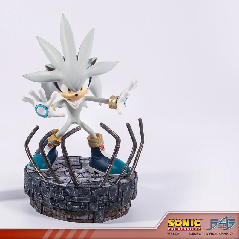 Silver the Hedgehog - Sonic the Hedgehog - Polystone Statue