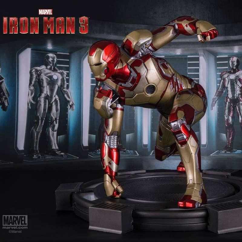 Iron Man Mark XLII - Iron Man 3 - 1/4 Scale Statue