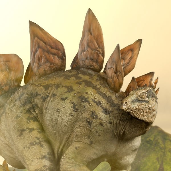 Stegosaurus - Dinosaurier - Polystone Statue