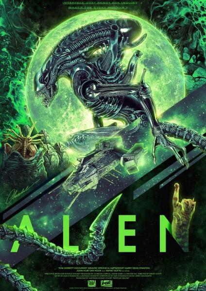 Interface 2037 - Alien - Kunstdruck 42 x 30 cm