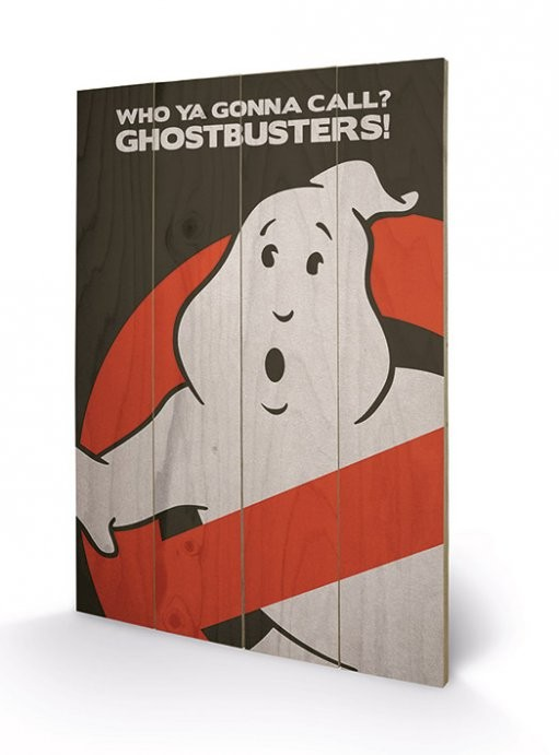 Ghostbusters - Holzdruck 40 x 60 cm
