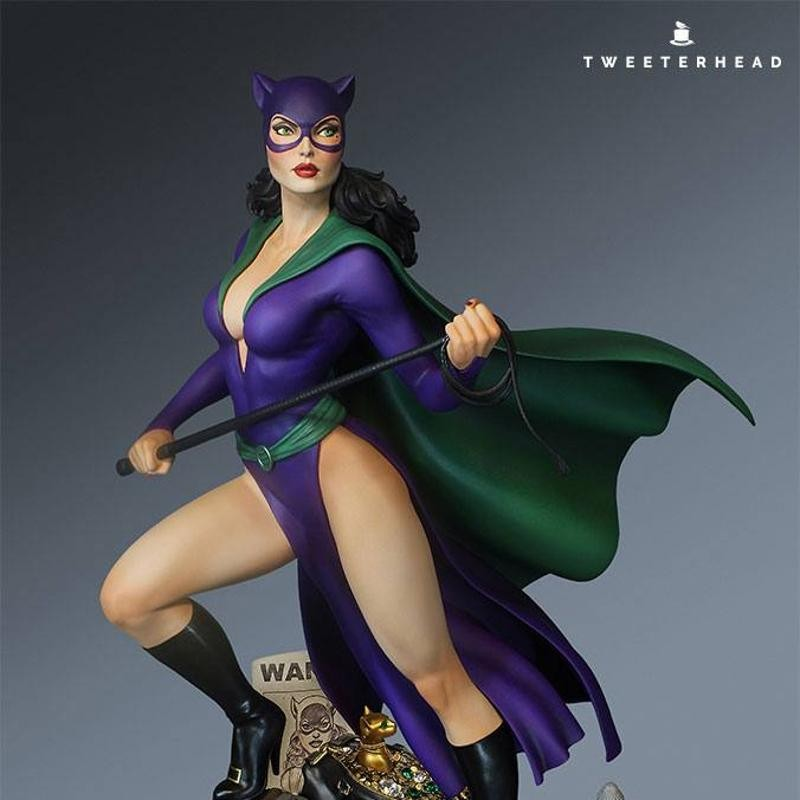 Catwoman - Super Powers Collection - Maquette 40cm