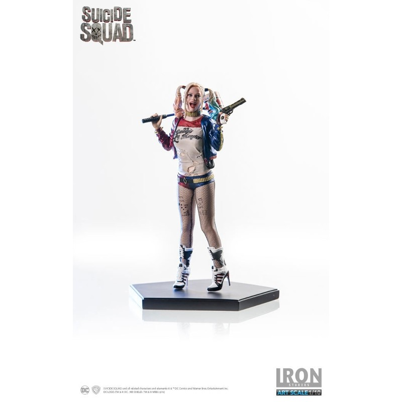 Harley Quinn - Suicide Squad - 1/10 Scale Statue