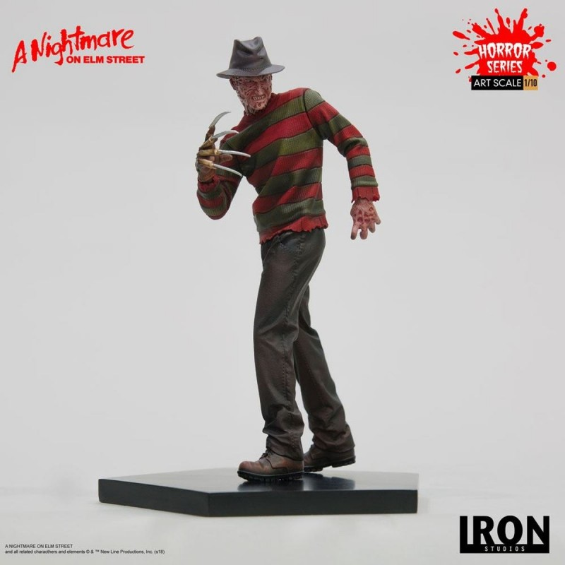 Freddy Krueger - Nightmare on Elm Street - 1/10 Scale Statue