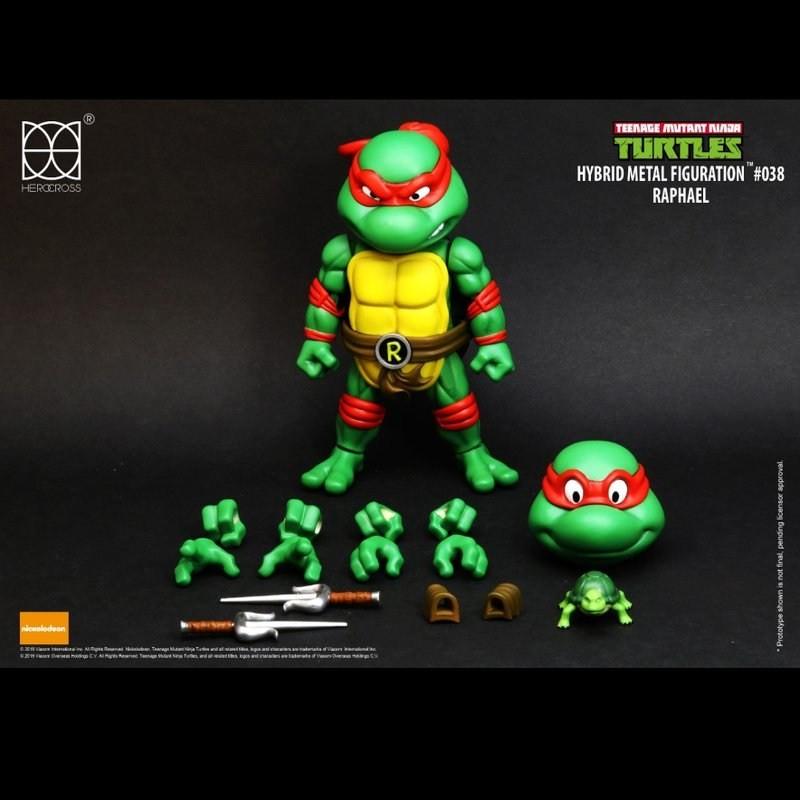 Raphael - TMNT - Hybrid Metal Figuration