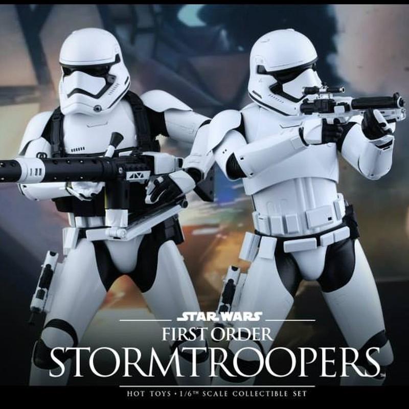 First Order Stormtroopers - Star Wars - 1/6 Scale Figuren Set