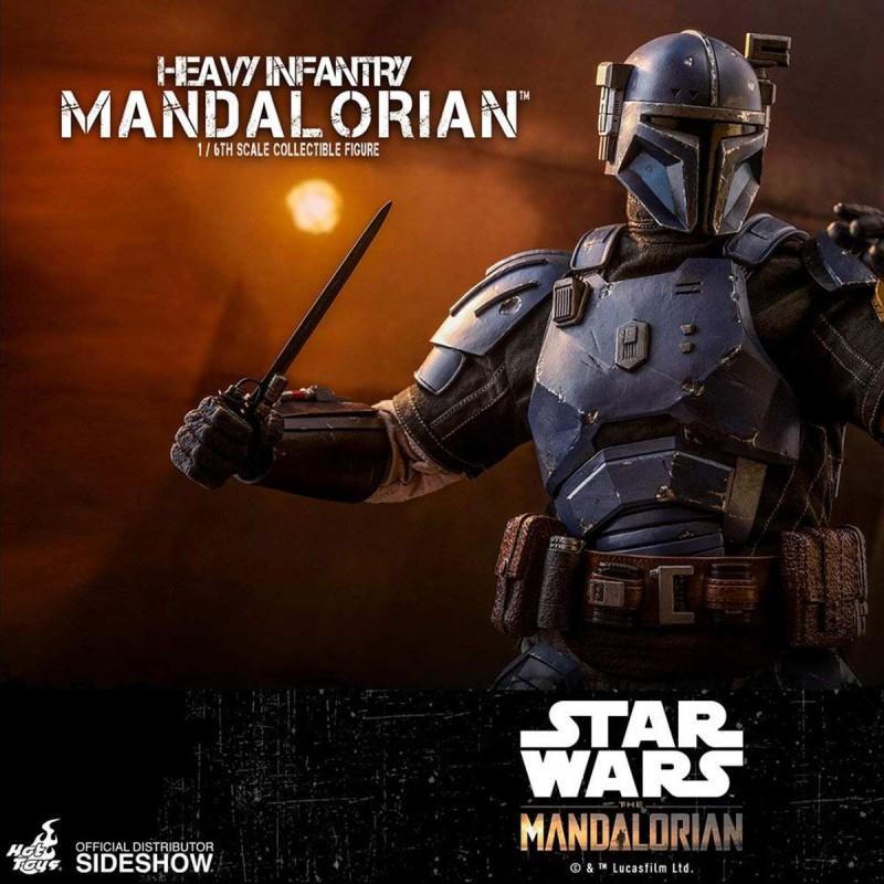 Heavy Infantry Mandalorian - Star Wars The Mandalorian - 1/6 Scale Figur