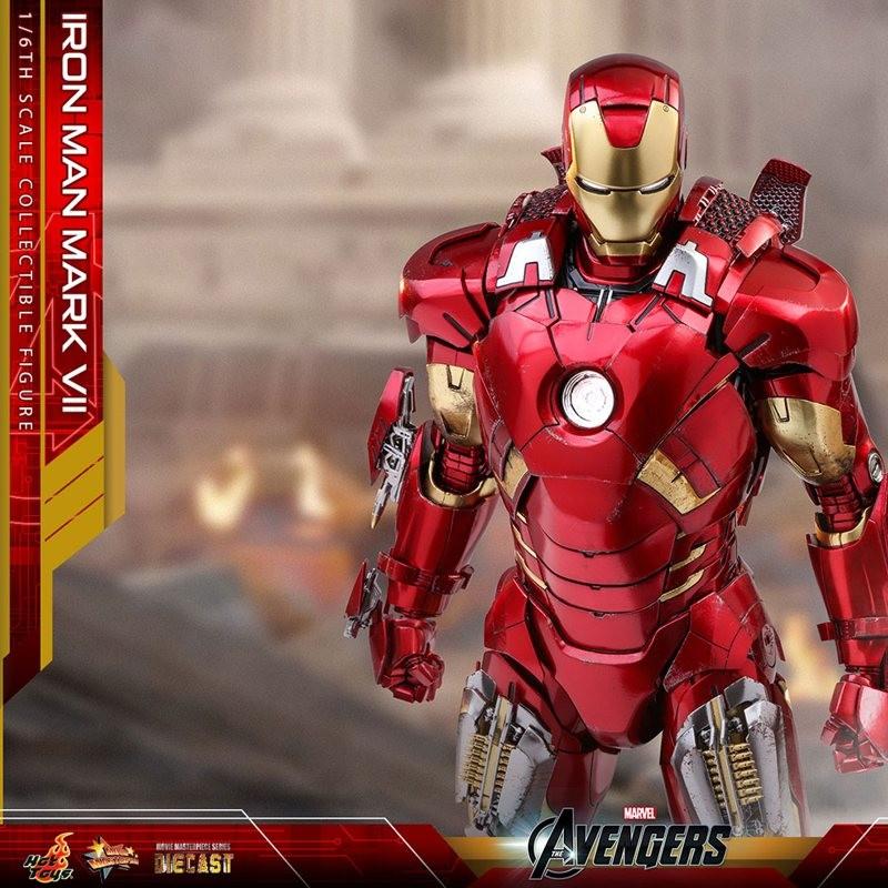 Iron Man Mark VII - Avengers - Diecast 1/6 Scale Figur