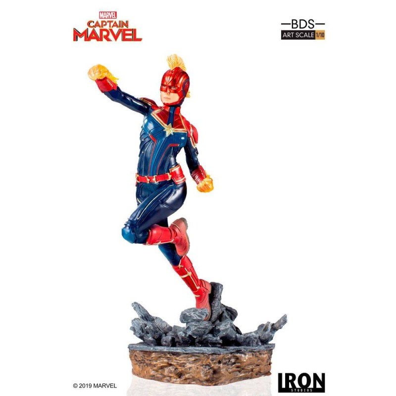 Captain Marvel - Marvel Comics - BDS Art 1/10 Scale Statue