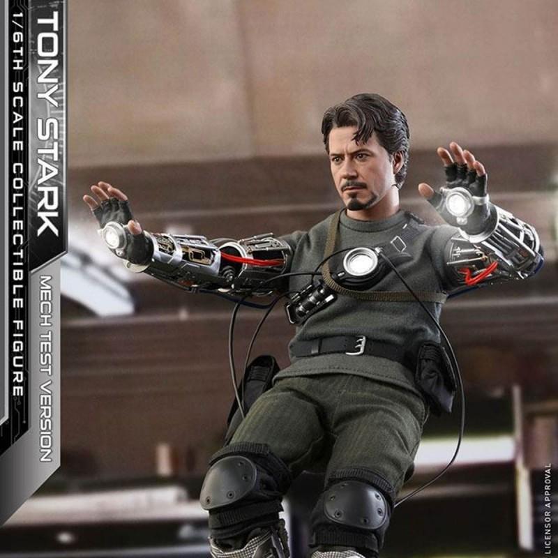 Tony Stark (Mech Test Version) - Iron Man - 1/6 Scale Figur