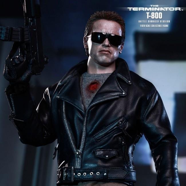 Terminator T-800 Battle Damaged - 1/6 Scale Figur