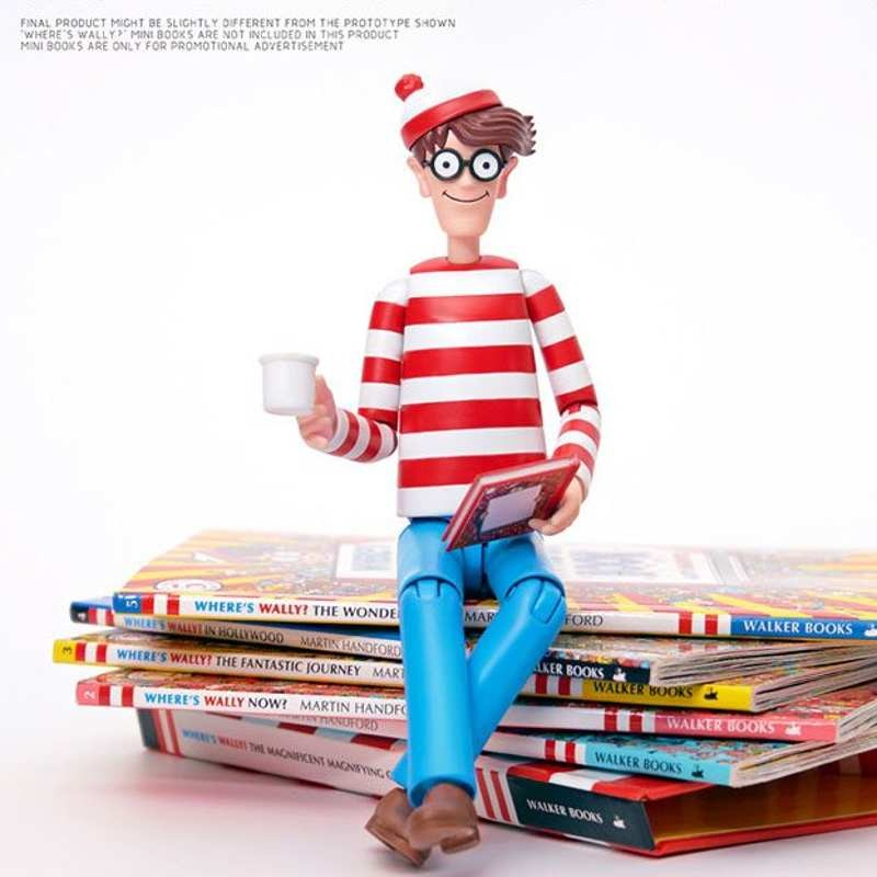 Wally - Wo ist Walter? - 1/12 Scale Mega Hero Actionfigur