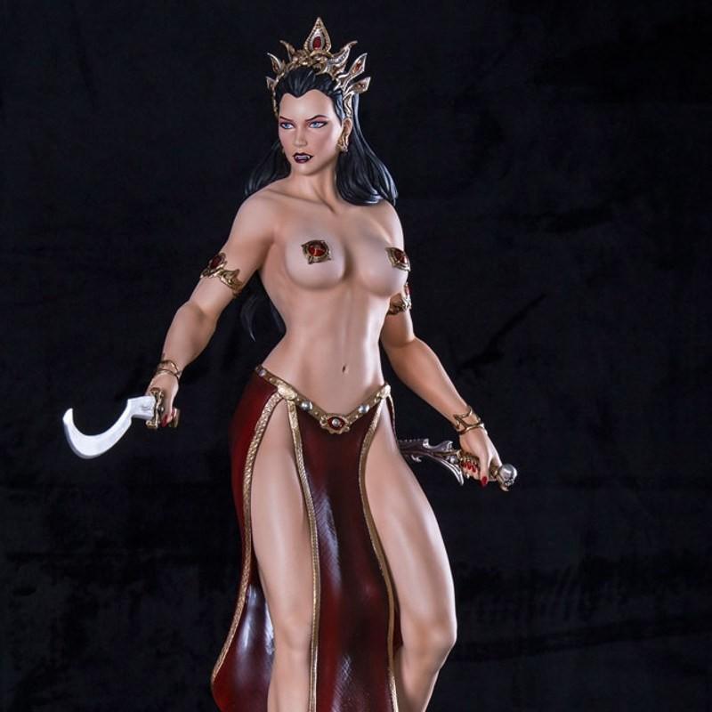 Arkhalla Fight - 1/4 Scale Resin Statue