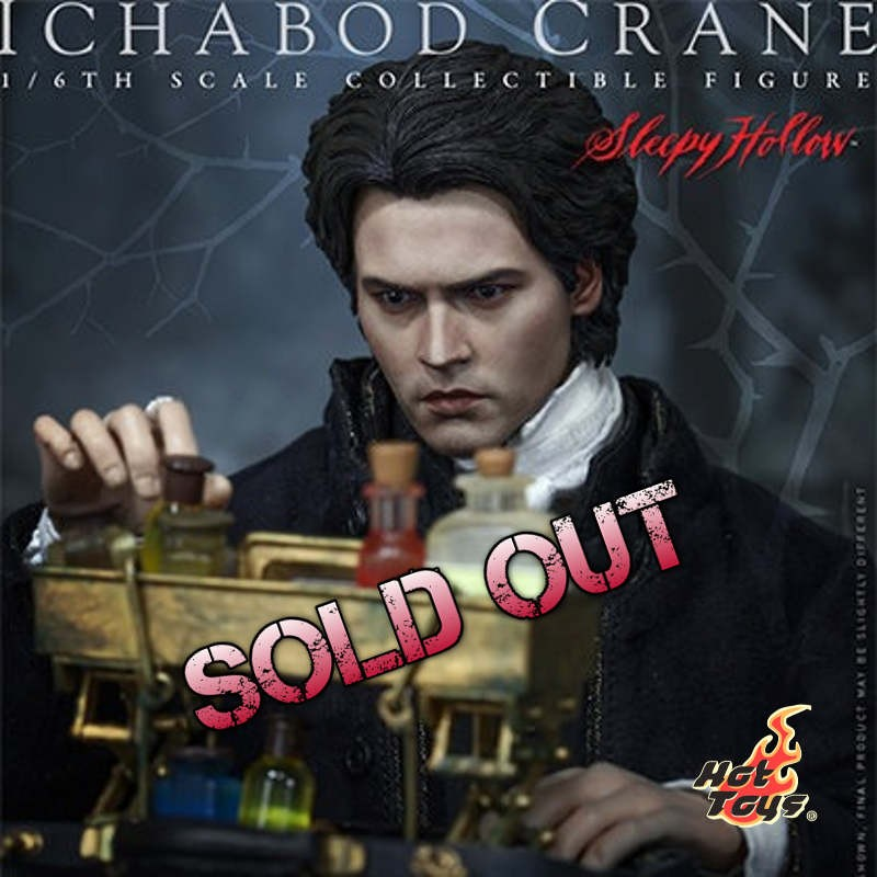 Ichabod Crane - Sleepy Hollow - 1/6 Scale Action Figur