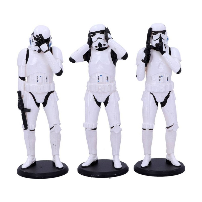 3er-Pack Three Wise Stormtroopers - Star Wars - Resin Stauen Set