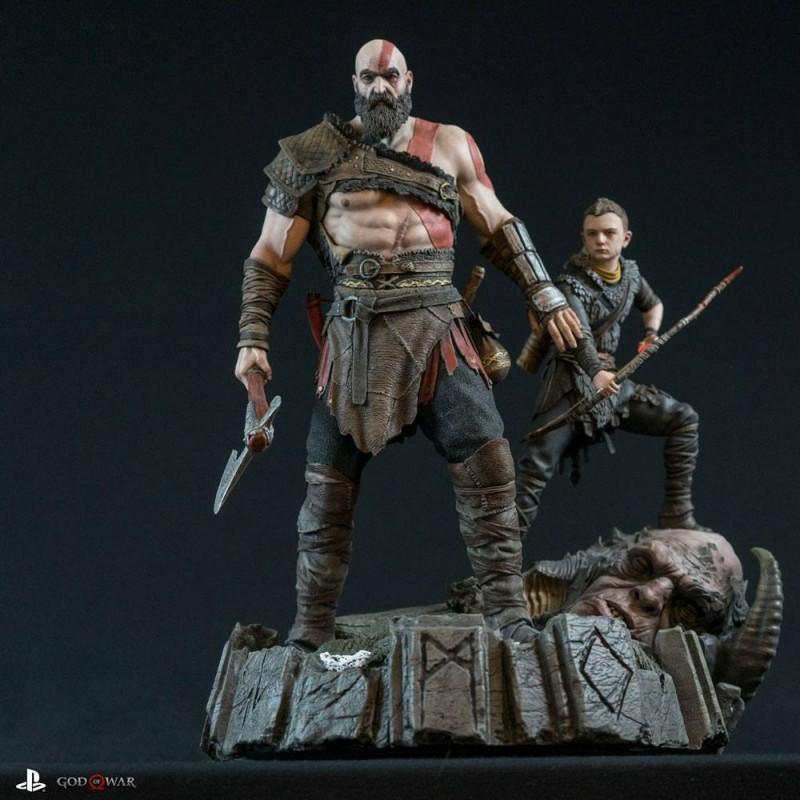 Kratos & Atreus - God of War 2018 - 1/6 Scale Diorama
