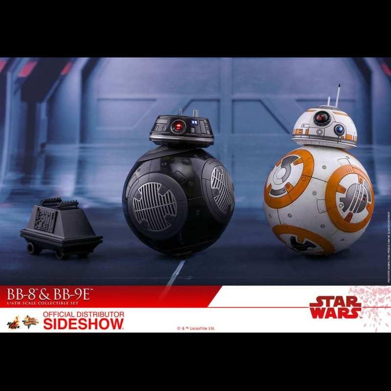 BB-8 & BB-9E - Star Wars: The Last Jedi - 1/6 Scale Figuren Set